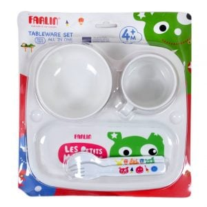 Farlin Tableware Set (All in One) (4m+) Smartmom Bangladesh