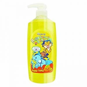 Follow Me 2 In 1 Kids Shampoo and Bath, Mango Tango, 800ml Smartmom Bangladesh