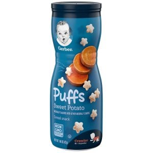 Gerber Puffs Sweet Potato Cereals Snack 42gm Smartmom Bangladesh