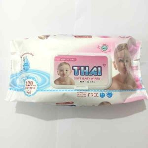 Thai Wet Wipes For Babies (Moist Tissue Poly) 120pcs Smartmom Bangladesh