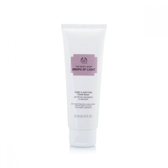 The Body Shop Drops Of Light Pure Clarifying Foam Wash – 125ml Smartmom Bangladesh
