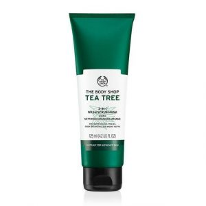 The Body Shop Tea Tree 3 In 1 Wash Scrub Mask – 125 ml Smartmom Bangladesh