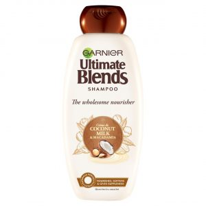GARNIER ULTIMATE BLENDS COCONUT MILK DRY HAIR SHAMPOO 360ML Smartmom Bangladesh