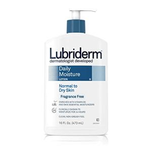 Lubriderm Daily Moisture Lotion for Normal to Dry Skin, Fragrance Free -473ml Smartmom Bangladesh