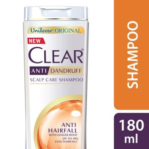 Clear Shampoo Anti Hairfall Anti Dandruff 180ml Smartmom Bangladesh