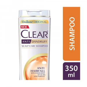 Clear Shampoo Anti Hairfall Anti Dandruff 350ml With Water Sipper Free Smartmom Bangladesh