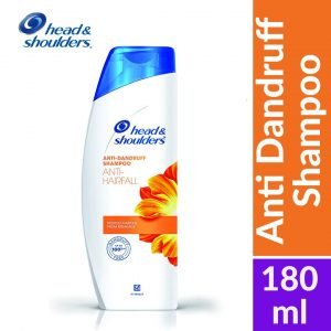 Head & Shoulders Anti-Dandruff Shampoo Anti-Hairfall 180ml Smartmom Bangladesh