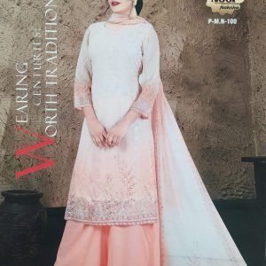 Noor Naksha Soft Pure Georgette Three Piece (P-M.N- 100) Smartmom Bangladesh