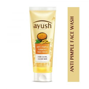 Lever Ayush Facewash Anti Pimple Turmeric 80ml Smartmom Bangladesh