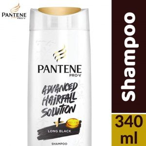 Pantene Pro-v Advanced Hairfall Solution Long Black Shampoo 340ml Smartmom Bangladesh