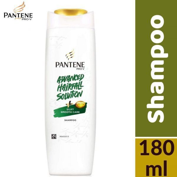 Pantene Pro-v Advanced Hairfall Solution Silky Smooth Care Shampoo 180ml Smartmom Bangladesh