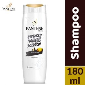 Pantene Pro-v Advanced Hairfall Solution Long Black Shampoo 180ml Smartmom Bangladesh