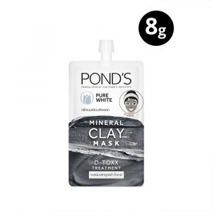Pond's Mineral Clay Mask Pure White D-TOXX 8g Smartmom Bangladesh