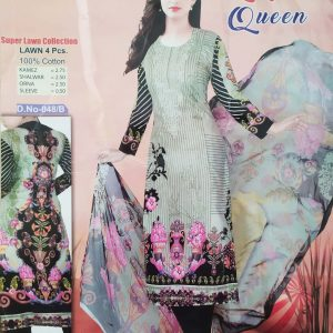 Lakme Queen Super Lawn Four Piece-048/B Smartmom Bangladesh