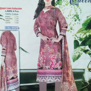 Lakme Queen Super Lawn Four Piece-052/B Smartmom Bangladesh