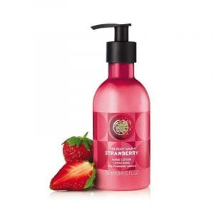The Body Shop Strawberry Hand Lotion -250ml Smartmom Bangladesh