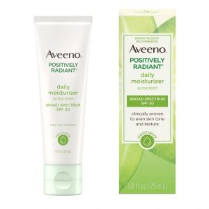 Aveeno Positively Radiant Daily Facial Moisturizer with Broad Spectrum SPF-30 29ml Smartmom Bangladesh