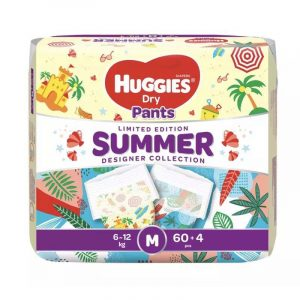 Huggies Dry Pants Limited Edition M (6-12 Kg) 60pcs (Malaysia) Smartmom Bangladesh