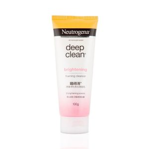 Neutrogena Deep Clean Brightnening Foaming Cleanser For Normal To Oily Skin 100gm Smartmom Bangladesh