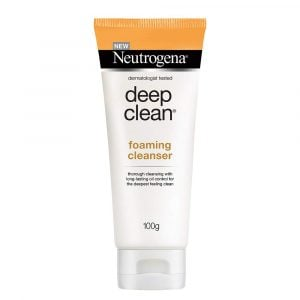 Neutrogena Deep Clean Foaming Cleanser 100g Smartmom Bangladesh