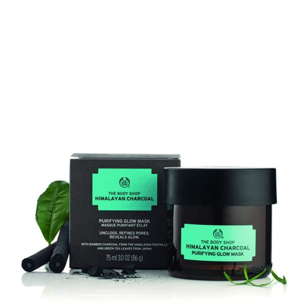 The Body Shop Himalayan Charcoal Purifying Glow Mask 75ml Smartmom Bangladesh