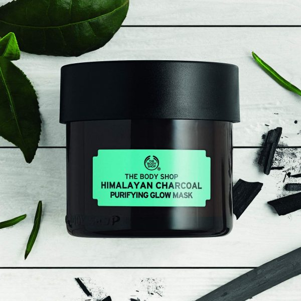 The Body Shop Himalayan Charcoal Purifying Glow Mask 75ml4 Smartmom Bangladesh
