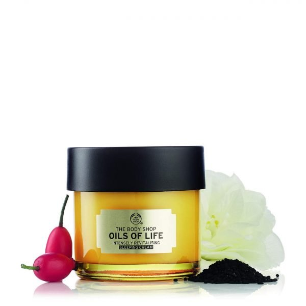 The Body Shop Oils Of Life Intensely Revitalising Sleeping Cream 80ml Smartmom Bangladesh