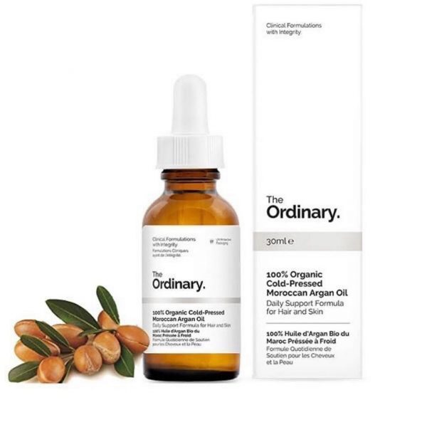 The Ordinary 100% Cold-Pressed Moroccan Argan Oil 30ml Smartmom Bangladesh