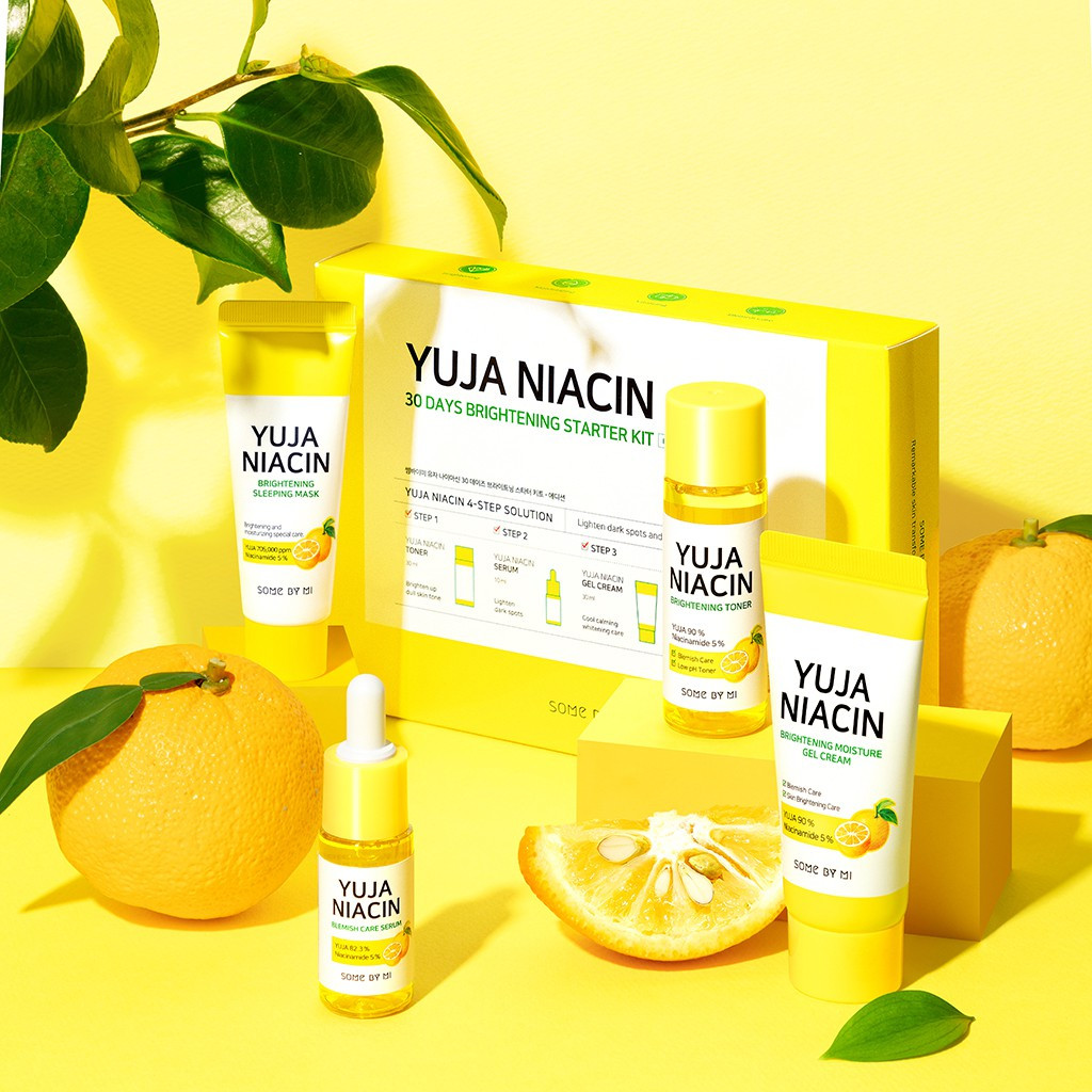 SOME BY MI Yuja Niacin 30 Days Brightening Starter kit Smartmom Bangladesh