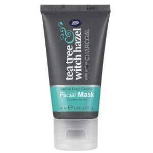 Boots Tea Tree & Witch Hazel Charcoal Facial Mask 50ml. Smartmom Bangladesh