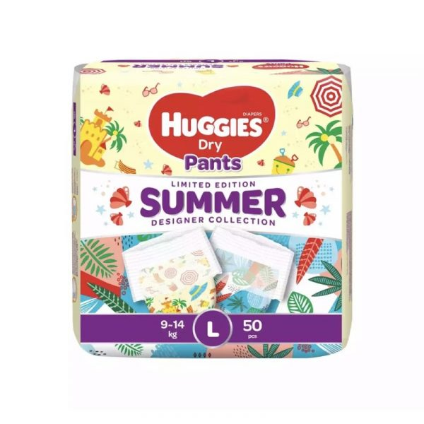 Huggies Dry Pants Limited Edition L (9-14 Kg) 50pcs (Malaysia) Smartmom Bangladesh