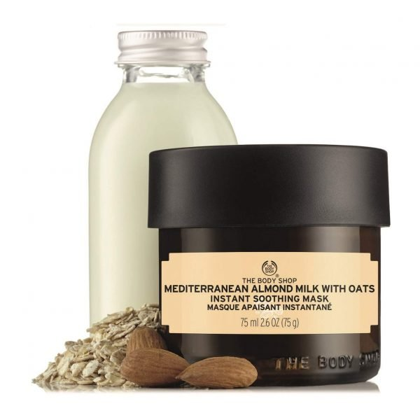 The Body Shop Mediterranean Almond Milk with Oats Instant Soothing Mask 75ml Smartmom Bangladesh