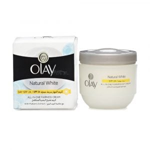 Olay Natural White All-In-One Fairness Cream Day SPF-24   50g Smartmom Bangladesh