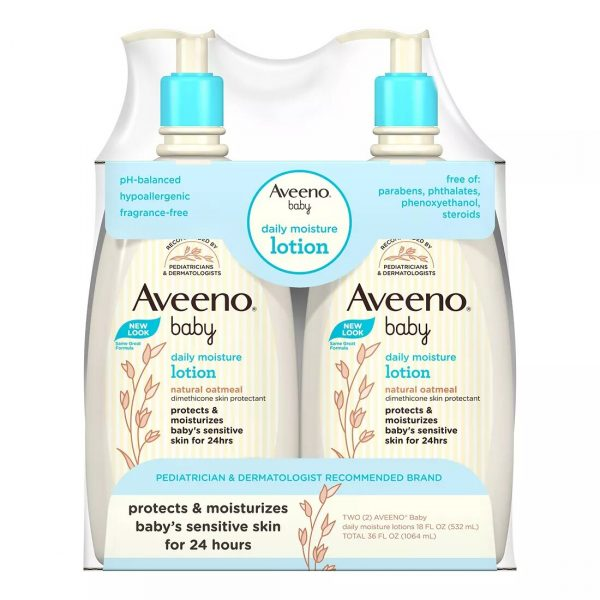 Aveeno Baby Daily Moisture Lotion With Natural Oatmeal 532ml Combo Smartmom Bangladesh
