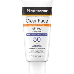NEUTROGENA Clear Face Break Out Free Liquid Lotion Sunscreen Broad Spectrum Spf 50 Smartmom Bangladesh