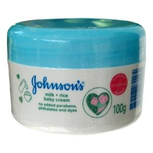 Johnson's Milk + Rice Baby Cream 100gm Smartmom Bangladesh