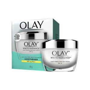 Olay White Radiance Light Perfecting Day Cream Sp 24 Whitening Moisturizer 50 G Smartmom Bangladesh