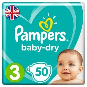 Pampers Baby Dry Diapers Improved Belt 6 10 Kg 50pcs (uk) Smartmom Bangladesh