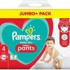 Pampers Baby Dry Pants Size 4 Jumbo Pack (9 15kg) 74 Pcs (uk) Smartmom Bangladesh