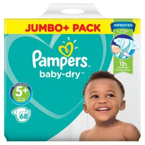 Pampers Baby Dry Pants Size 5 Jumbo Pack (12 17kg) 60 Pcs (uk) Smartmom Bangladesh