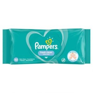 Pampers Fresh Clean Baby Scent 52 Baby Wipes1 Smartmom Bangladesh