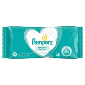 Pampers Sensitive Fragance Free 52 Baby Wipes1 Smartmom Bangladesh