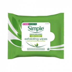 Simple Exfoliating Wipes, 25 Count Smartmom Bangladesh
