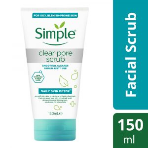 Simple Daily Skin Detox Clear Pore Scrub 150ml Smartmom Bangladesh