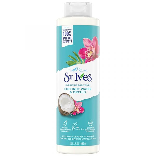St.ives Coconut Water And Orchid Body Wash 650ml Smartmom Bangladesh