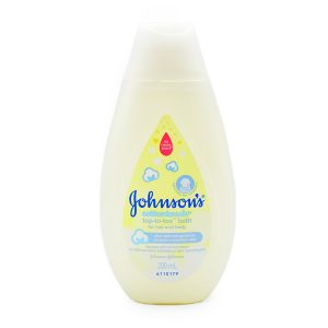 Johnsoncottontouch Top To Toe Baby Bath 200ml1 Smartmom Bangladesh