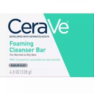 Cerave Foaming Cleanser Bar Normal To Oily Skin 128g Smartmom Bangladesh