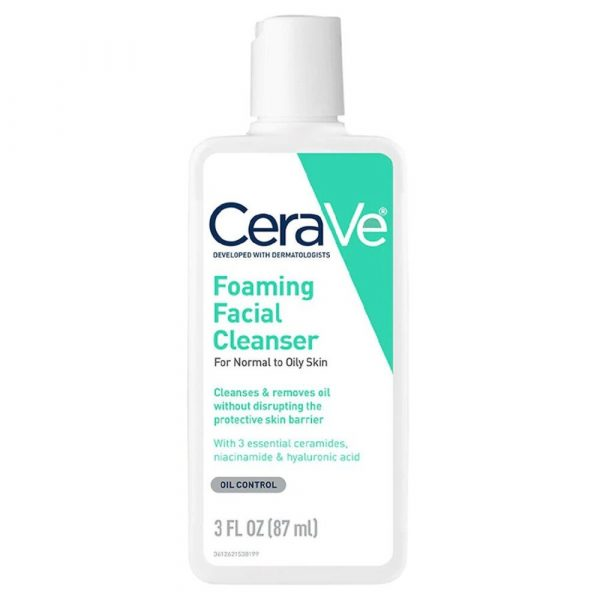 Cerave Foaming Facial Cleanser For Normal To Oily Skin 87ml Smartmom Bangladesh