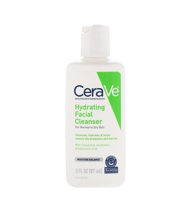 Cerave Hydrating Facial Cleanser For Normal To Dry Skin 87ml Smartmom Bangladesh