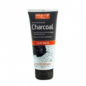 Beauty Formulas With Activated Charcoal Clay Mask 100ml Smartmom Bangladesh
